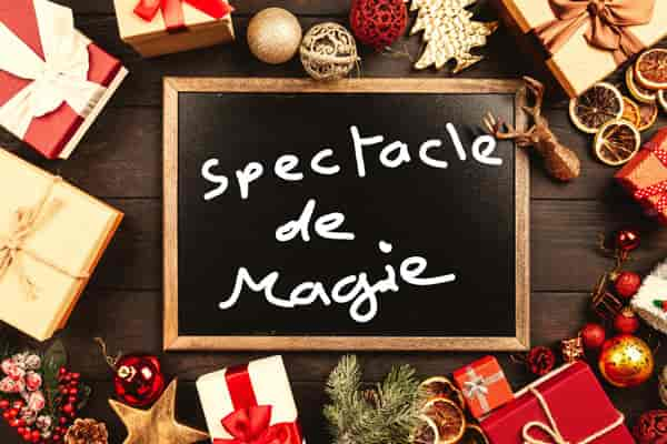 spectacle magie noël