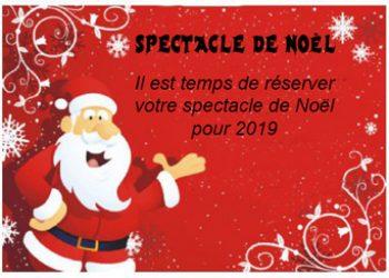 spectacle arbre de Noël 2019